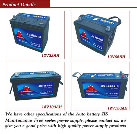Battery Q One Bst 24 T200 High Quality daewoo automobile 12v 48ah ac delco sutomotive battery