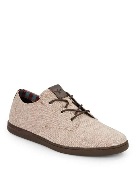 creative sneakers creative recreation vito lo canvas sneakers in brown for