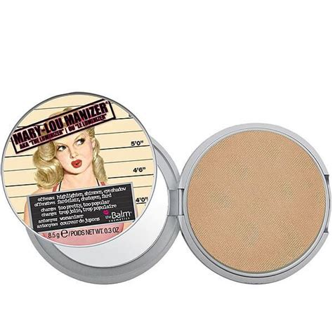 The Balm Manizer Highlighter the balm cosmetics lou manizer highlighter