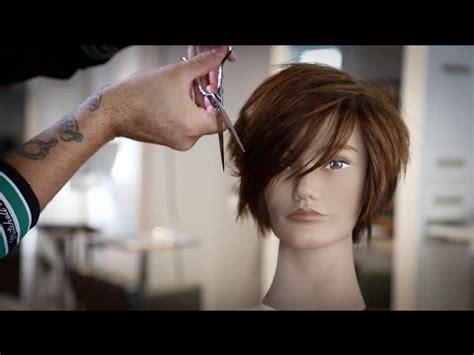 Cuts By Matt Beck   short haircut tutorial and a new scissor matt beck vlog