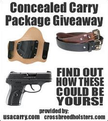 Free Government Giveaway Package - usa carry announces the concealed carry package giveaway