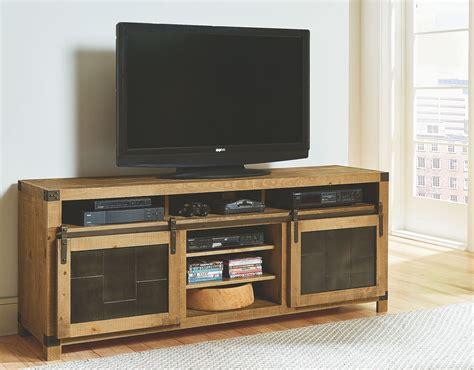mojo console mojo driftwood 74 quot tv console from progressive furniture
