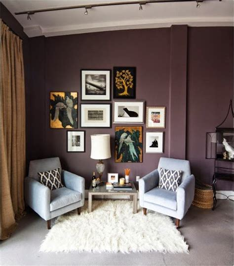 Aubergine Living Room by Eye For Design Decorating With Aubergine Eggplant
