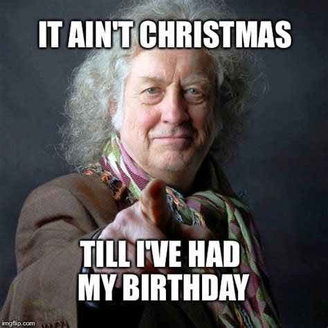 Christmas Birthday Meme - image tagged in christmas birthday imgflip