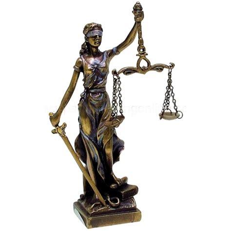 lady justice small bronze statue 5 25 inch statue