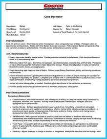 cake decorator resume student resume template