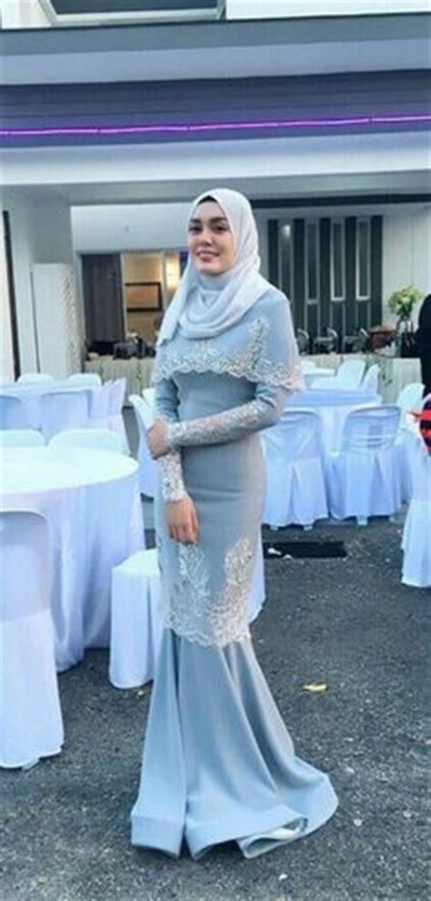 Busana Muslim Wanita Blouse Rania Batwing Acara Resmi Manis baju kurung moden lace minimalis baju raya 2016 fesyen trend terkini fesyen trend terkini