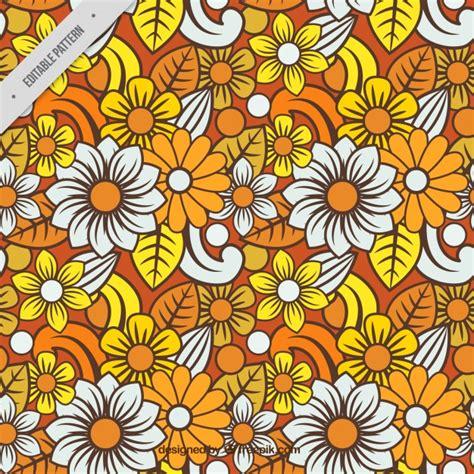 floral pattern batik colorful floral batik pattern vector free download