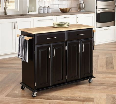 Mobile Kitchen Island Plans by Mobile Islands For Small Kitchens