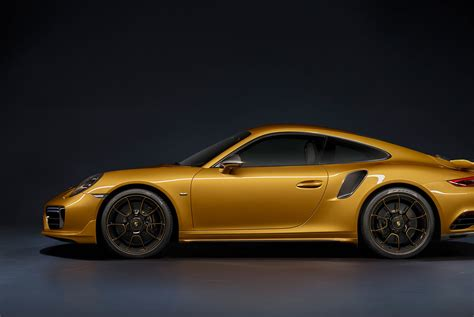 porsche gold porsche just made the 911 turbo s more exclusive and very