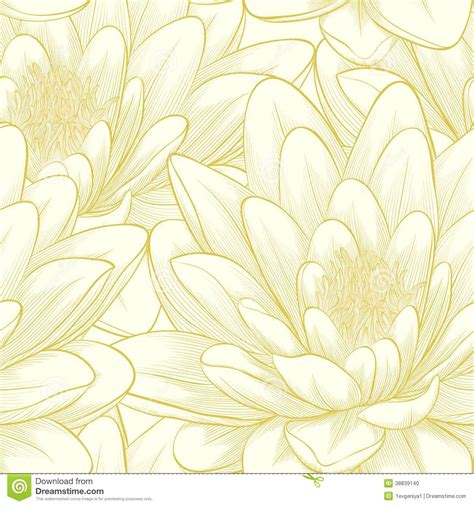 free lotus background pattern seamless pattern with lotus flowers stock vector image