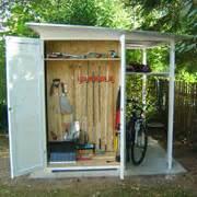 Gartenhaus Mit Fahrradunterstand by Garten Q