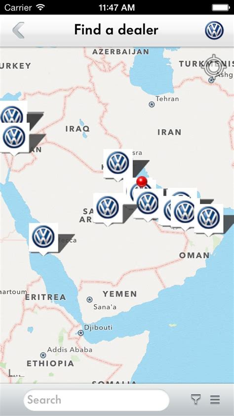 new volkswagen service app helps with report and