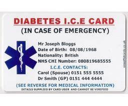 152 best Medical Alert Bracelet & Cards images on Pinterest   Cards, Maps and Medical alert