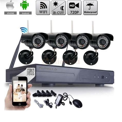 wifi 4ch hdmi cctv nvr outdoor wireless 720p hd