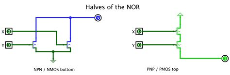 npn transistor or gate csci 255 building logic gates from transistors