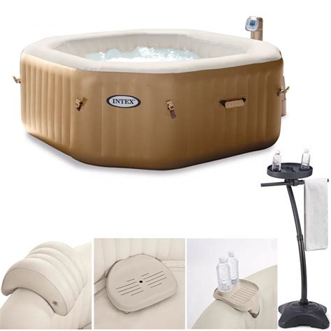 jacuzzi bathtub accessories octagonal bubble spa hot tub accessories intex from