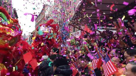 new year 2018 nyc parade ᴷ nyc chinatown 2018 new year parade kickoff usa