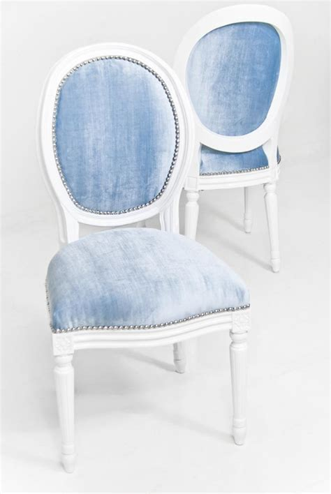 light blue velvet dining chairs www roomservicestore louis dining chair in trend