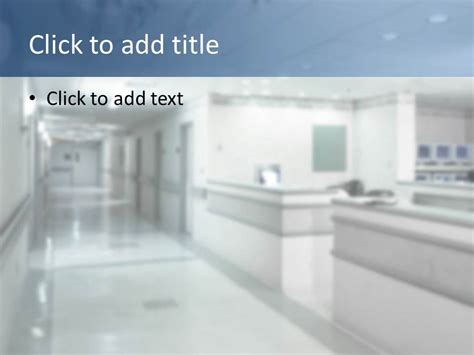 Doctor Of Medicine Powerpoint Template Slidesbase Hospital Presentation Templates