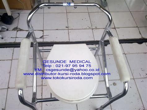 Kursi Roda Bekas Palembang jual kursi toilet bekas commode chair second toko