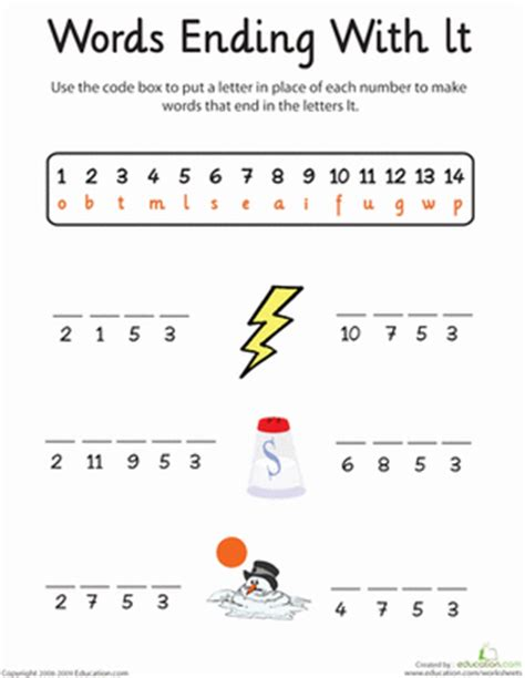 printable word ending games all worksheets 187 crack the code worksheets printable