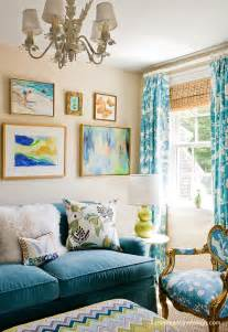turquoise curtains for living room turquoise sofa contemporary living room katie