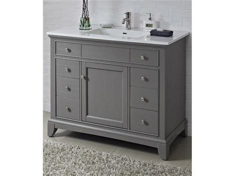 42 in bathroom vanity cabinet 42 inch single sink bathroom vanity with marble top in