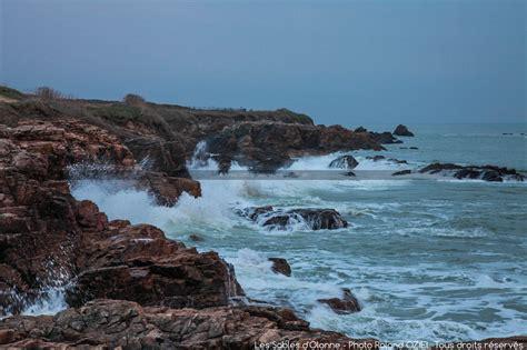 comptoir de la mer les sables d olonne photo mer dechain 233 e cote vend 233 enne les sables d olonne
