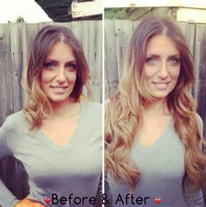 clip in extensions for hair before and after clip in hair extensions before and after weft