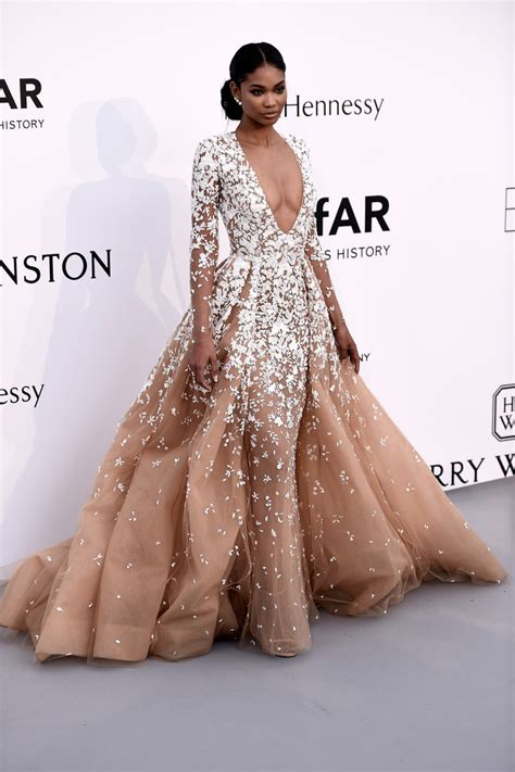 chanel iman in zuhair murad chanel iman in zuhair murad couture best dressed at the