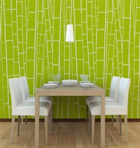 Wallpaper Dinding Motif 6 wallpaper dinding ruang tamu minimalis hijau