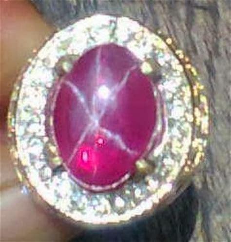 Ruby American Ster american ruby indo permata mulia