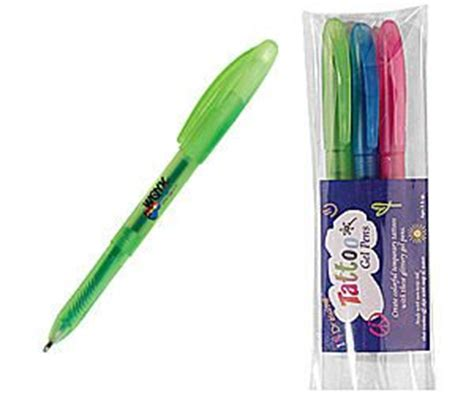 tattoo gel pens non toxic non toxic washable tattoo gel pens promotional products blog