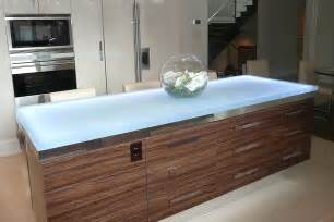 Glass Kitchen Countertops by Trends Talking Glass Countertops With Vladimir