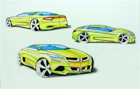 dodge design contest 2015 fca design contest third place sketch by hwanseong jang