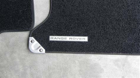 1 floor range range rover sport carpet floor mat set black oem land