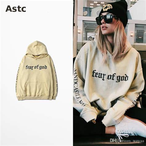 Purpose Tour Sleeved Beige 2017 fear of god hoodie beige purpose tour sweatshirt