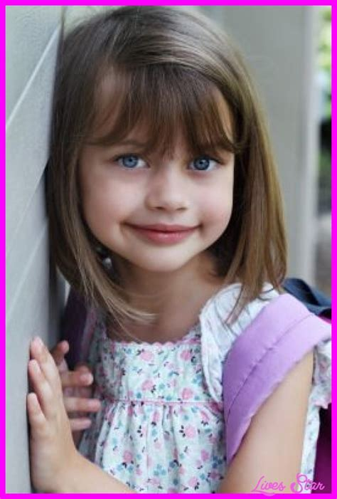 girl hairstyles with bangs cute little girl haircuts with bangs livesstar com