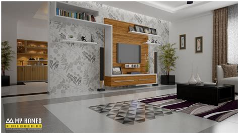 simple living room designs  kerala