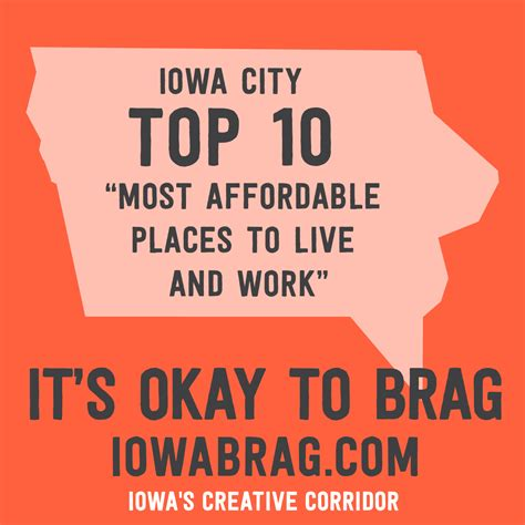 most affordable places to live affordable living we ll take it iowacity ranked top 10