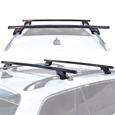 Luggage Rack For Suv wagon suv universal roof rack cross bar rail pair car