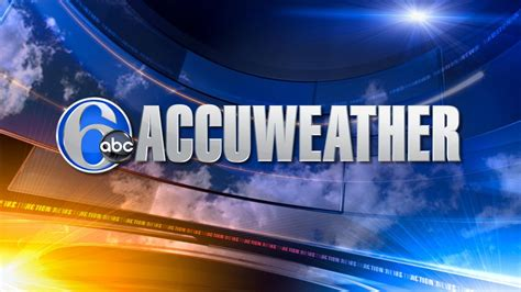 weather news 6 abc philadelphia accuweather sunny and pleasant