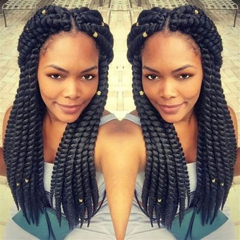 how to style crochet twist 50 upscale kinky twists styles for african american women