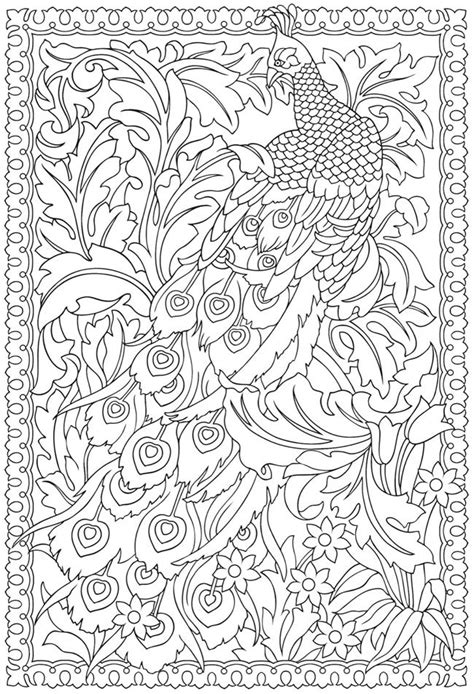 creative american designs coloring book coloring books welcome to dover publications creative peacock
