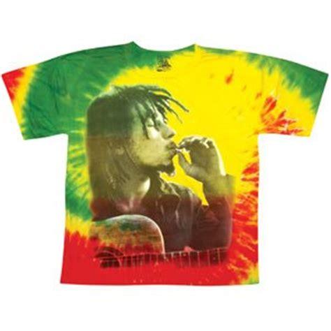 Gamis Tiedye Jersey Import bob marley s rasta smoke tie dye t shirt tie dye m import it all