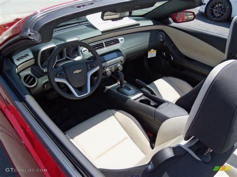 2012 camaro interior beige interior 2012 chevrolet camaro lt rs convertible