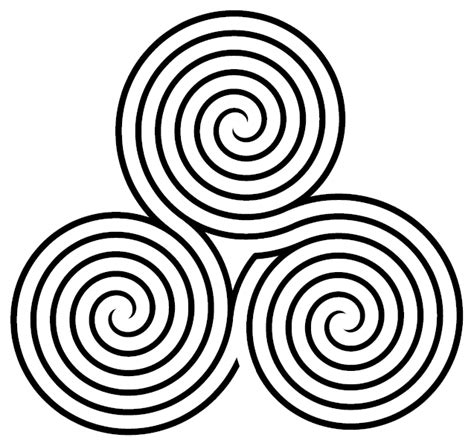 file triple spiral labyrinth variant png wikimedia commons