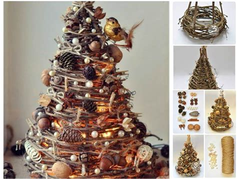 creative ideas diy gorgeous christmas tree from tree