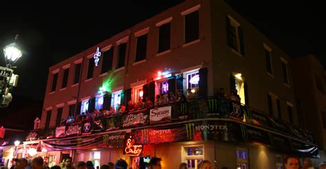 top bars on bourbon street bourbon cowboy at nite